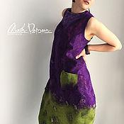 """Одежда ручной работы. Ярмарка Мастеров - ручная работа Валяное платье """" Ягодный взрыв"""". Handmade."""