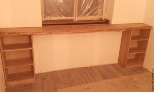 Мебель ручной работы. Ярмарка Мастеров - ручная работа. Купить Барный стол-подокрнник. Handmade. Коричневый