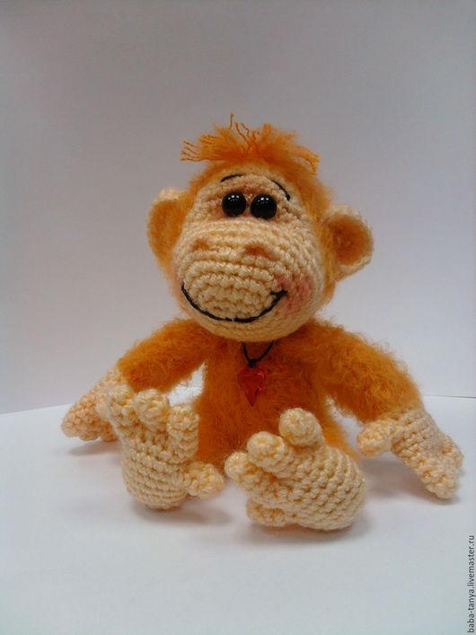 Игрушки животные, ручной работы. Ярмарка Мастеров - ручная работа. Купить MiniМартышка. Handmade. Рыжий, обезьянка, символ 2016 года