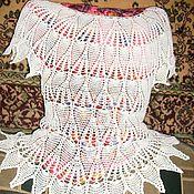 Одежда ручной работы. Ярмарка Мастеров - ручная работа Летняя ананасовая кофточка. Handmade.
