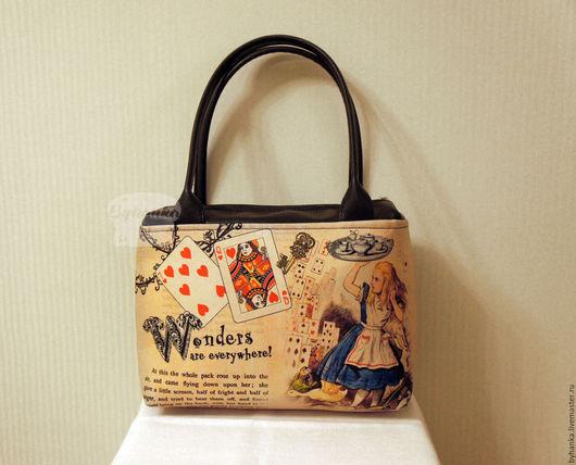 Женские сумки ручной работы. Ярмарка Мастеров - ручная работа. Купить Сумка на плечо. Handmade. Сумка, необычная сумка, алиса
