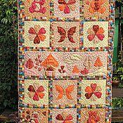 """Одеяла ручной работы. Ярмарка Мастеров - ручная работа Детское одеяло """"Осенние краски"""". Handmade."""