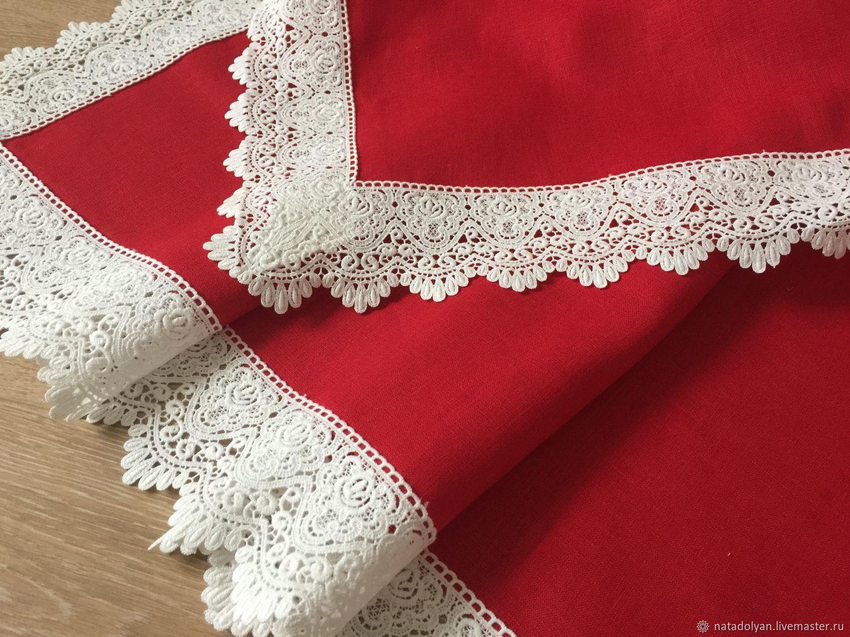 Linen tablecloth ' Christmas ', Tablecloths, Ivanovo,  Фото №1
