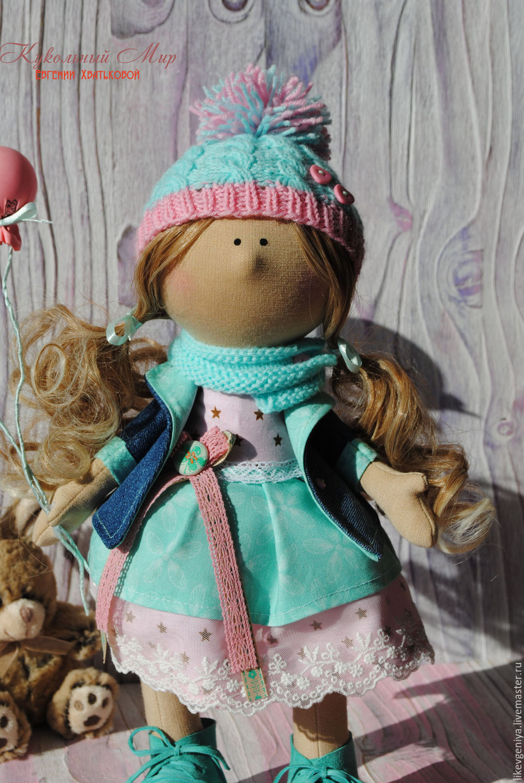 Куклы снежки мастер класс фото