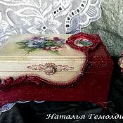 Для дома и интерьера handmade. Livemaster - original item Box: BOUQUET. Handmade.