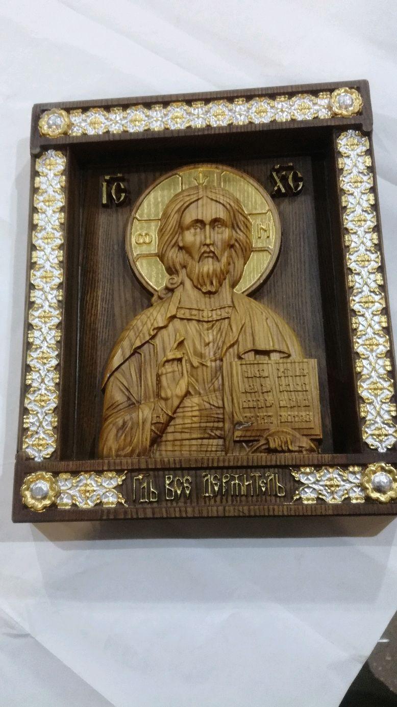 Икона Господь Вседержитель, Иконы, Брянск,  Фото №1