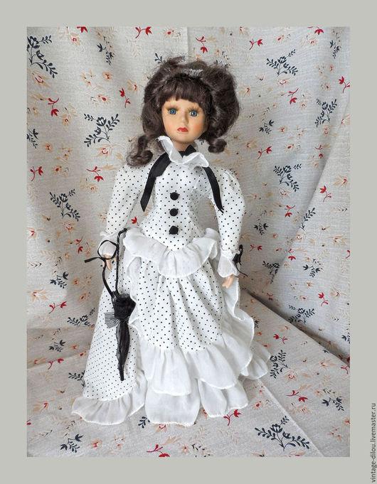 Винтажные куклы и игрушки. Ярмарка Мастеров - ручная работа. Купить коллекционная фарфоровая кукла. Handmade. Белый, германия