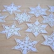 Подарки к праздникам handmade. Livemaster - original item Stars on the Christmas tree set.. Handmade.