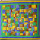 Текстиль, ковры ручной работы. Ярмарка Мастеров - ручная работа. Купить Лоскутное покрывало. Handmade. Лоскутное покрывало, пэчворк