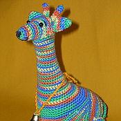 Куклы и игрушки ручной работы. Ярмарка Мастеров - ручная работа Жираф Одомашненный. Handmade.