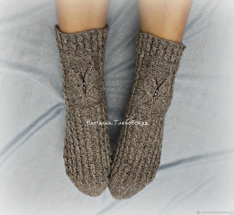 Socks 'Butterfly', Socks, Orenburg,  Фото №1