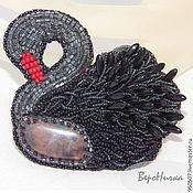 Украшения ручной работы. Ярмарка Мастеров - ручная работа Лебеди. Лебеди. Черные лебеди...... Handmade.