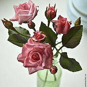 Цветы и флористика handmade. Livemaster - original item Three sprigs of roses.. Handmade.