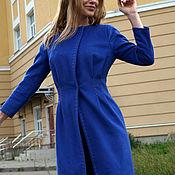 Одежда ручной работы. Ярмарка Мастеров - ручная работа Пальто из шерсти с кашемиром. Handmade.
