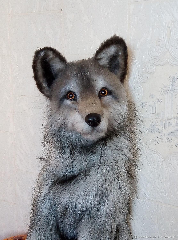 Волк. Реалистичная игрушка, Мягкие игрушки, Калинковичи,  Фото №1