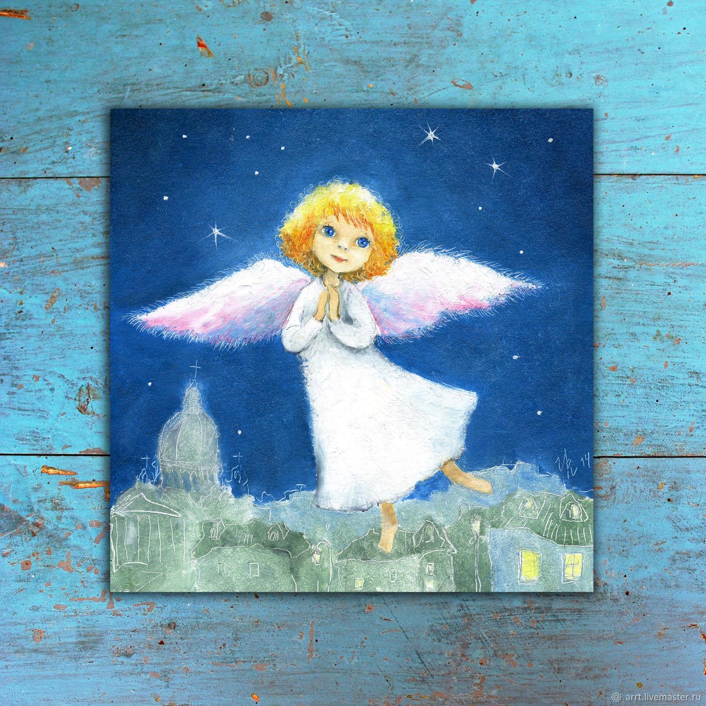 Angel flies Print reproduction, Pictures, St. Petersburg,  Фото №1