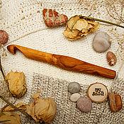 handmade. Livemaster - original item Wooden crochet Hook 16#61. Handmade.