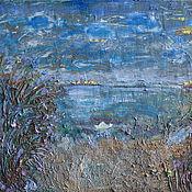 Картины и панно ручной работы. Ярмарка Мастеров - ручная работа Весна на озере. Handmade.