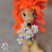 Куклы и игрушки ручной работы. Ярмарка Мастеров - ручная работа Ежик Трям. Handmade.