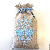Подарки к праздникам ручной работы. Ярмарка Мастеров - ручная работа Мешочек с вышивкой. Handmade.