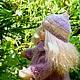 Вальдорфская игрушка ручной работы. Синеглазка, 40 см. svetlana. Интернет-магазин Ярмарка Мастеров. Вальдорфская кукла, кукла в подарок