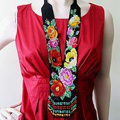 handmade. Livemaster - original item Necklace: Gerdan Flowers. Handmade.
