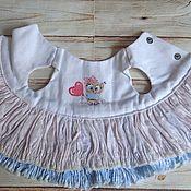 Одежда для кукол ручной работы. Ярмарка Мастеров - ручная работа Съемное платье для куклы с совушкой. Handmade.