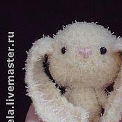 Куклы и игрушки ручной работы. Ярмарка Мастеров - ручная работа Амигуруми Заяц Юся. Handmade.