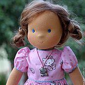 Куклы и игрушки ручной работы. Ярмарка Мастеров - ручная работа вальдорфская кукла  Китти-Карамелька 36см. Handmade.