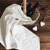 Для дома и интерьера handmade. Livemaster - original item Decorative linen towel. 100% linen. Softened.. Handmade.