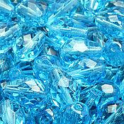 Материалы для творчества handmade. Livemaster - original item Bead of Czech glass art. Of 11-21, color - aquamarine. Handmade.