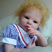 """Куклы и игрушки ручной работы. Ярмарка Мастеров - ручная работа Кукла реборн """"Наденька"""". Handmade."""