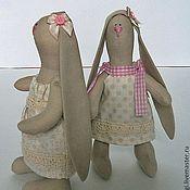 Куклы и игрушки ручной работы. Ярмарка Мастеров - ручная работа Зайки малышки ПРОДАНЫ. Handmade.