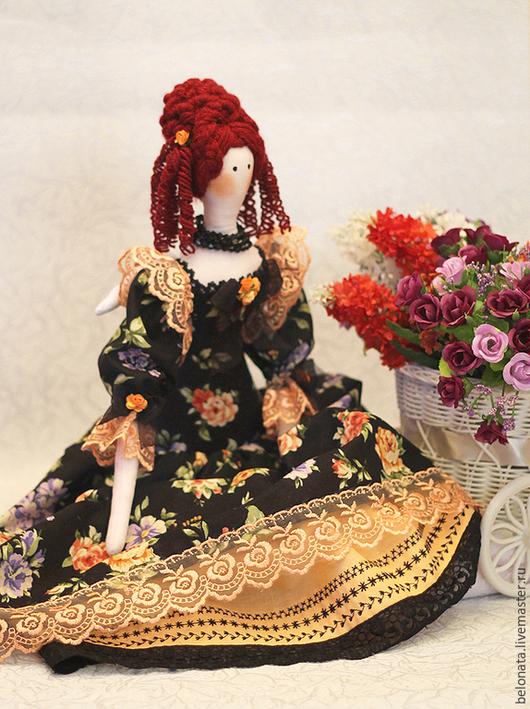 Куклы Тильды ручной работы. Ярмарка Мастеров - ручная работа. Купить Фея Роза цвета Персик. Handmade. Бежевый, тильда