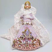 """Куклы и пупсы ручной работы. Ярмарка Мастеров - ручная работа Брошь антикварная half doll  """"Мартина"""". Handmade."""