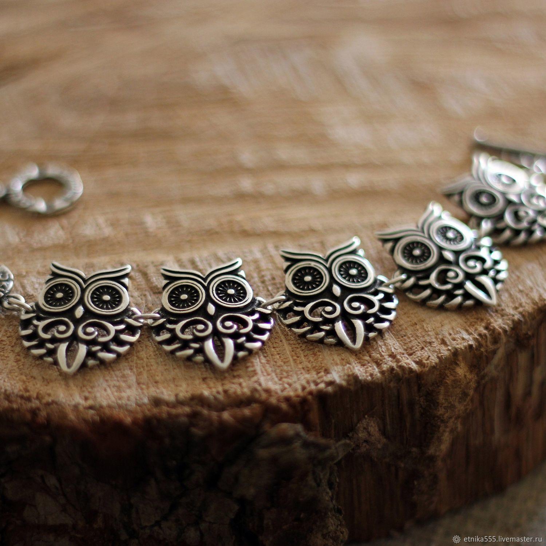 Spectacular Owl bracelet, Chain bracelet, Belaya Cerkov,  Фото №1
