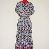Одежда ручной работы. Ярмарка Мастеров - ручная работа Платье из вискозы р.46-54. Handmade.