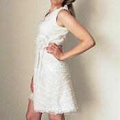 """Одежда ручной работы. Ярмарка Мастеров - ручная работа эко-платье """"Sweet cream"""". Handmade."""