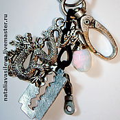 Аксессуары handmade. Livemaster - original item Men`s keychains. Handmade.