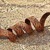 Аксессуары handmade. Livemaster - original item Men`s belt leather. Handmade.