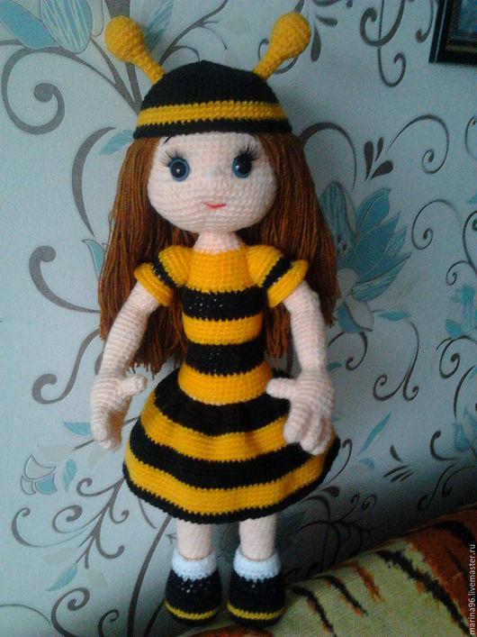 """Человечки ручной работы. Ярмарка Мастеров - ручная работа. Купить Куколка """"Пчелка"""". Handmade. Пчела, кукла ручной работы, пчелки"""