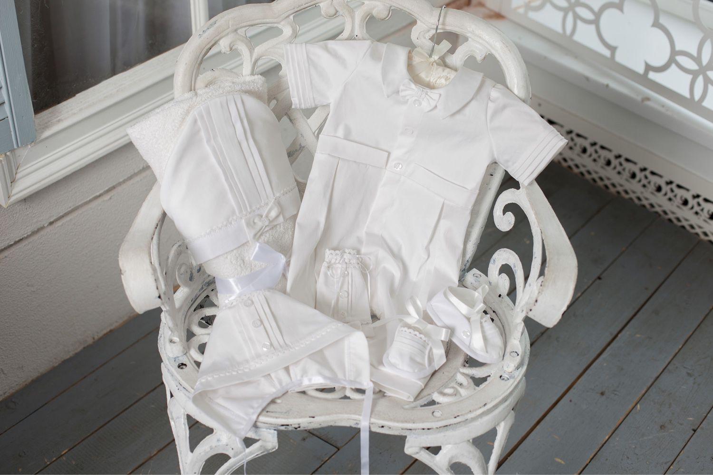 Baptismal set, 'Michael', Baby Clothing Sets, St. Petersburg,  Фото №1
