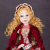 Куклы и игрушки ручной работы. Ярмарка Мастеров - ручная работа Мари со Щелкунчиком. Handmade.