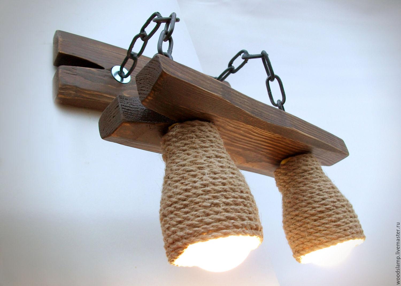 Декоративные светильники из дерева своими руками фото 94