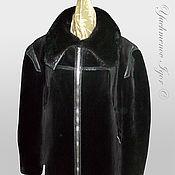 Одежда ручной работы. Ярмарка Мастеров - ручная работа Мужская куртка (темный бобер). Handmade.