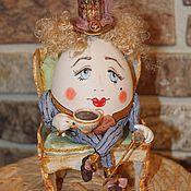Куклы и игрушки ручной работы. Ярмарка Мастеров - ручная работа Шалтай Болтай. Handmade.