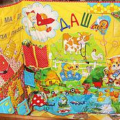 """Куклы и игрушки ручной работы. Ярмарка Мастеров - ручная работа БОЛЬШОЙ развивающий коврик """"Сказочная страна""""-3. Handmade."""