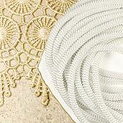 Материалы для творчества ручной работы. Ярмарка Мастеров - ручная работа Канитель витая Серебро 4 мм. Handmade.