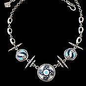 Украшения handmade. Livemaster - original item Necklace Arteria. the element of water. Handmade.