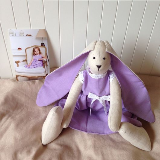 """Куклы Тильды ручной работы. Ярмарка Мастеров - ручная работа. Купить Зайка """"Кэрри"""". Handmade. Зайчик игрушка, в единственном экземпляре"""